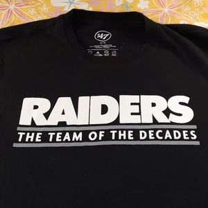 Oakland Raiders womans Sz .Med
